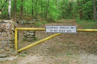 Il cancello della Barkley Marathons