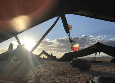 MdS dalla tenda