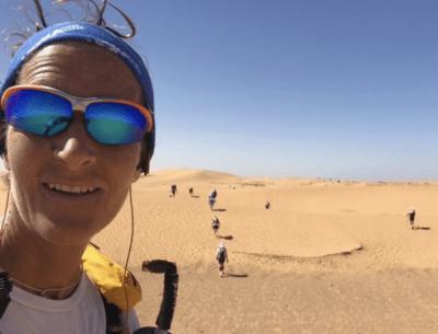 Francesca nel deserto